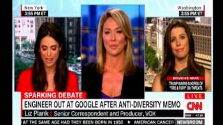 Engineer out at Google after anti diversity memo  CNN debate over the decision