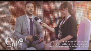 Francisco Fajardo, presidente del jurado Miss World Spain