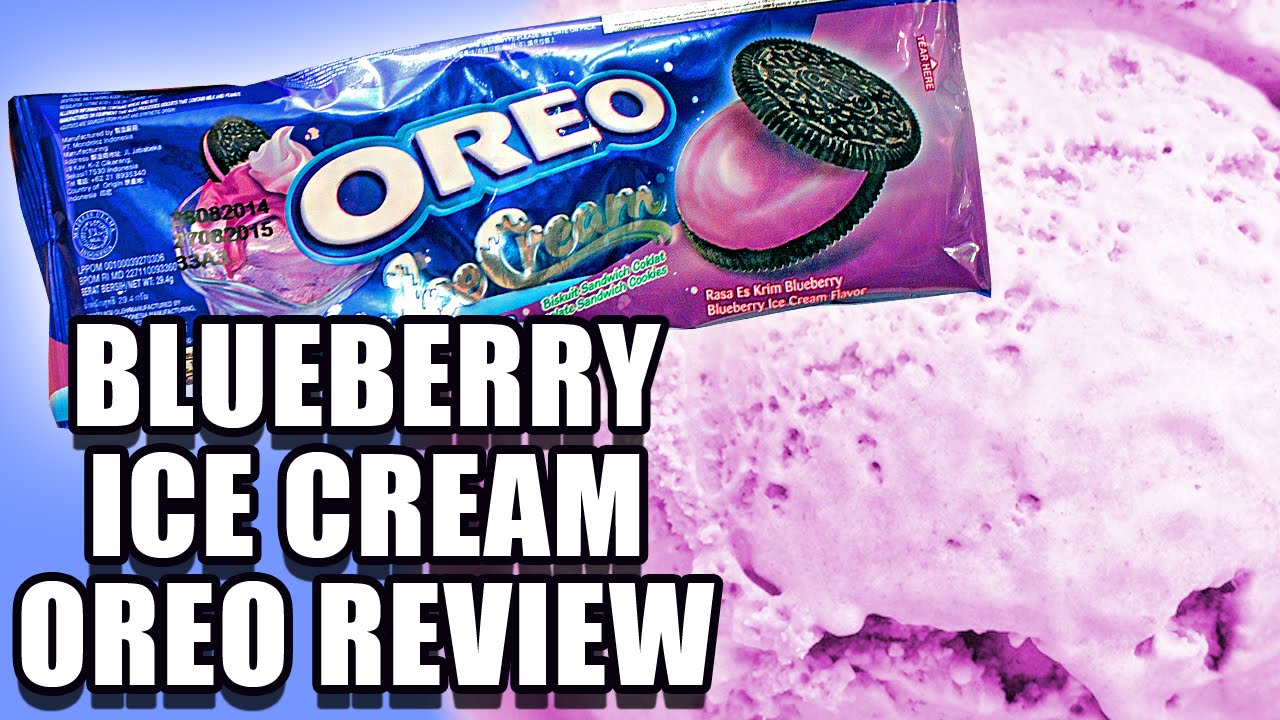 Blueberry Ice Cream Oreos China Youtube