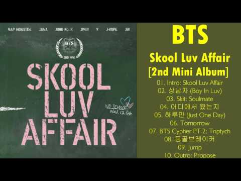 BTS  – Skool Luv Affair [2nd Mini Album] (MP3 + ITunes Plus AAC M4A) DOWNLOAD