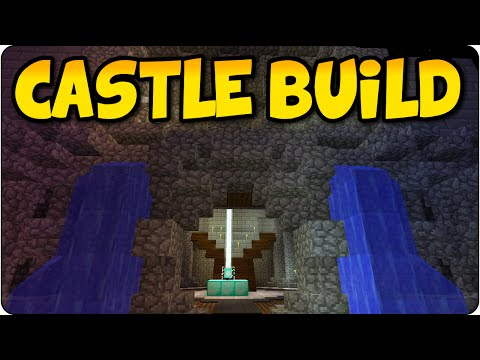 Minecraft PS4 Community Seed - Medieval Castle Build- Multiplayer Gameplay PS4 Console Edition