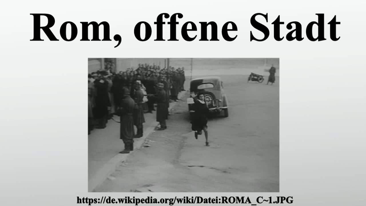 Rom Offene Stadt
