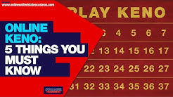 Playing Keno Online   5 Things You Must Know