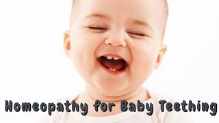 Homeopathic Medicine for Baby Teething | Baby Teething Remedies | Baby Teething Problems & Relief