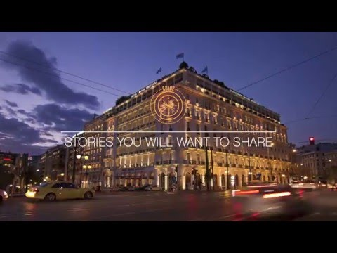 Might I Suggest? Meet Athens and the Hotel Grande Bretagne