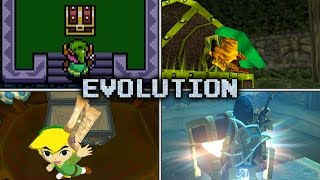 Evolution of Chest Opening & Item Get Animations in Zelda games (1986 - 2017)