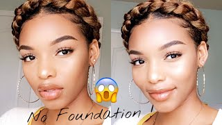 No Foundation Makeup Look | Flawless Skin With Only Concealer | Flawhs