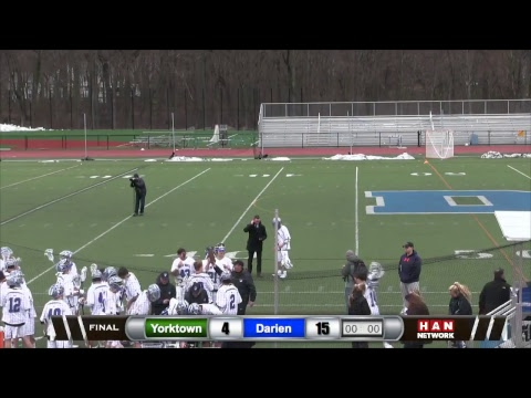 HAN Sports: Yorktown (NY) at Darien Boys Lacrosse 4.1.17