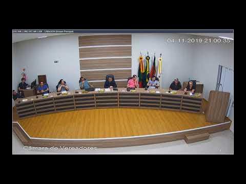 Sessão Ordinária 04/11/2019