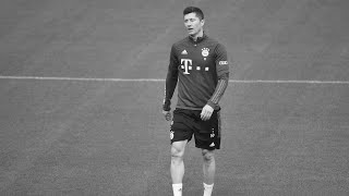 Lewandowski bricht Bayern-Training ab..