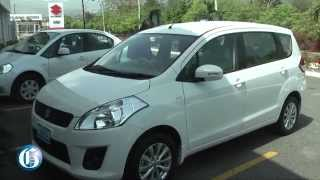 test drive the suzuki ertiga