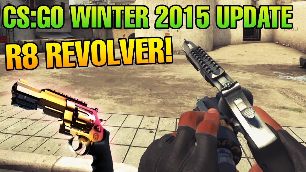 cs go winter update 2015 r8 revolver revolver case und. Black Bedroom Furniture Sets. Home Design Ideas