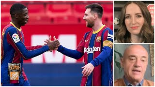 ANÁLISIS Barcelona cumplió, sigue en la pelea por LaLiga y Messi es figura otra vez | Futbol Center