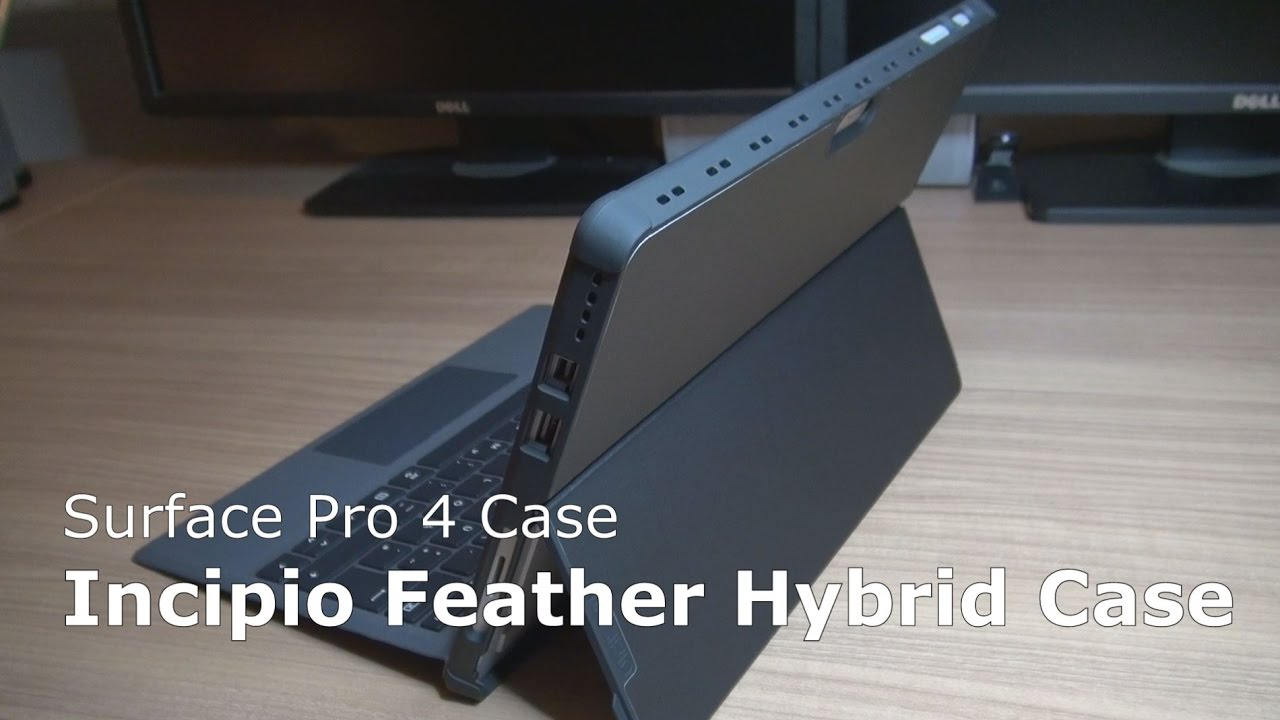 best cheap 799d2 3ce3d Incipio Feather Hybrid Case Surface Pro 4 | Microsoft certified protective  cover slim kickstand