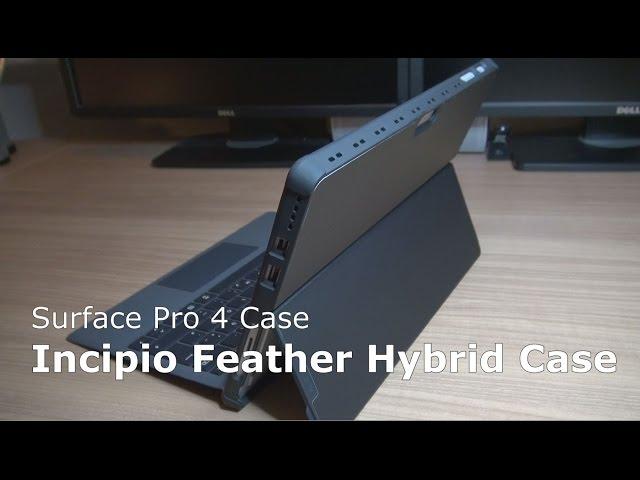 new style e651e a1b21 Incipio Feather Hybrid Case Surface Pro 4 | Microsoft certified ...