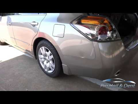 Nissan Altima PDR |Pro Hail And Dent Repair, Plano, Texas| (469) 223-5123