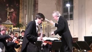 Introduzione, Tema e Variazioni per clarinetto e Orchestra  di G Rossini, cl .Fabio Maini