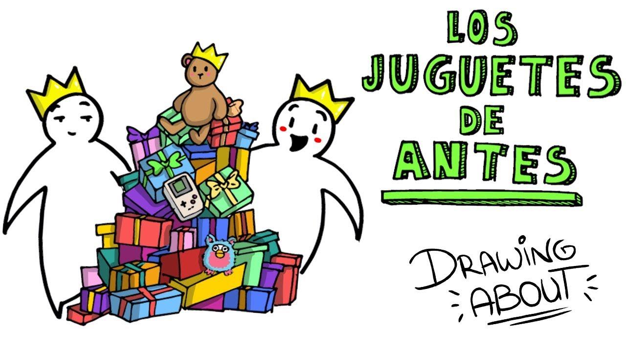 LOS JUGUETES DE ANTES  | Draw My Life (os enseñamos nuestros juguetes favoritos)