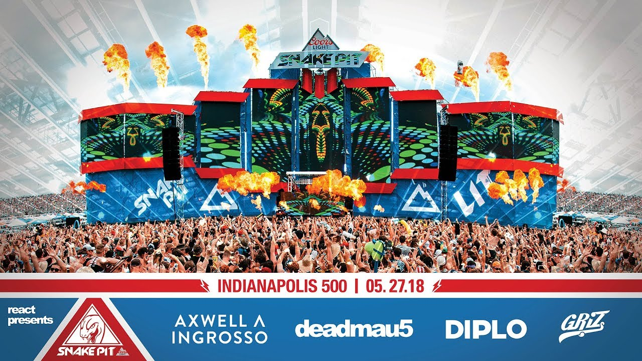 2018 Indy 500 Snake Pit   Official Lineup