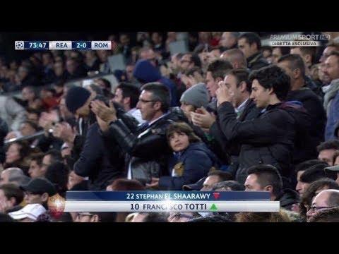Francesco Totti - Standing Ovation San Siro/Viktoria Plzen  + Gol [Tributo]