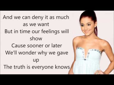 Ariana Grande - Almost Is Never Enough ft. Nathan Sykes - Lyrics [HD]