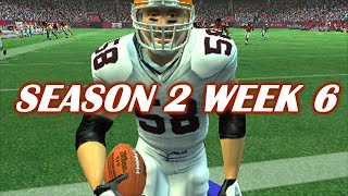 BATTLE BACK - MADDEN 2006 BROWNS FRANCHISE VS FALCONS - S2W6