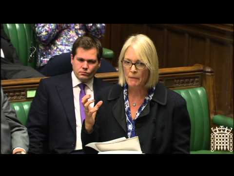 Margot James MP speaks on airstrikes against ISIS in Iraq