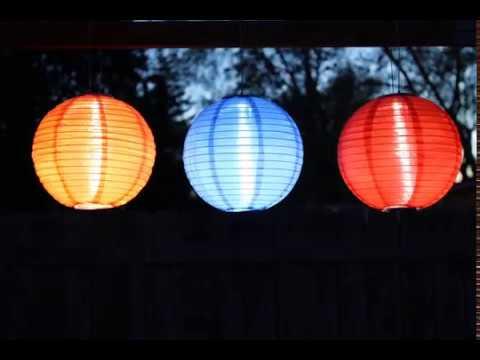 Soji™ Solar Lanterns From Allsop Garden | Www.allsopgarden.com