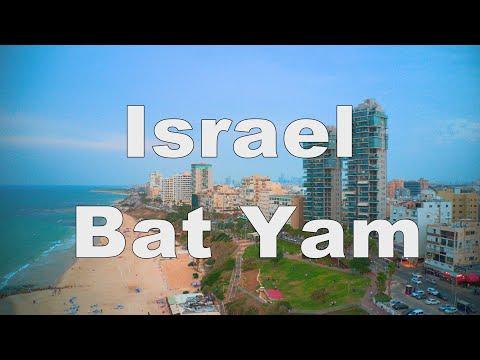 Israel   Bat Yam  2020  4k   MAVIC 2 PRO
