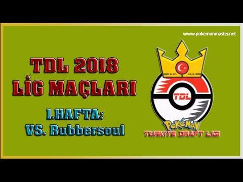 Türkiye Draft Ligi - Viva Volcano - 1.Hafta: VS. RubberSoul (Lonely Cubones)