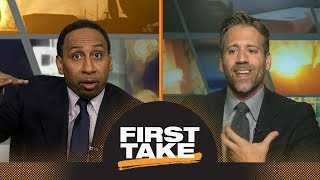 Max: Warriors are 'in trouble' for NBA playoffs without Steph Curry | First Take | ESPN