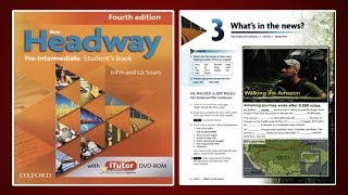 (Update) New Headway Pre-Intermediate Student's Book 4th :Unit.3 -What's in the news?