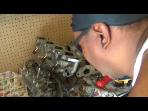 CLEANING INTAKE MANIFOLD