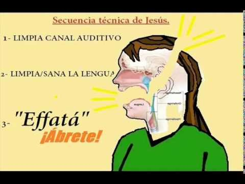 Jesús cura a un sordomudo [Eof] - YouTube