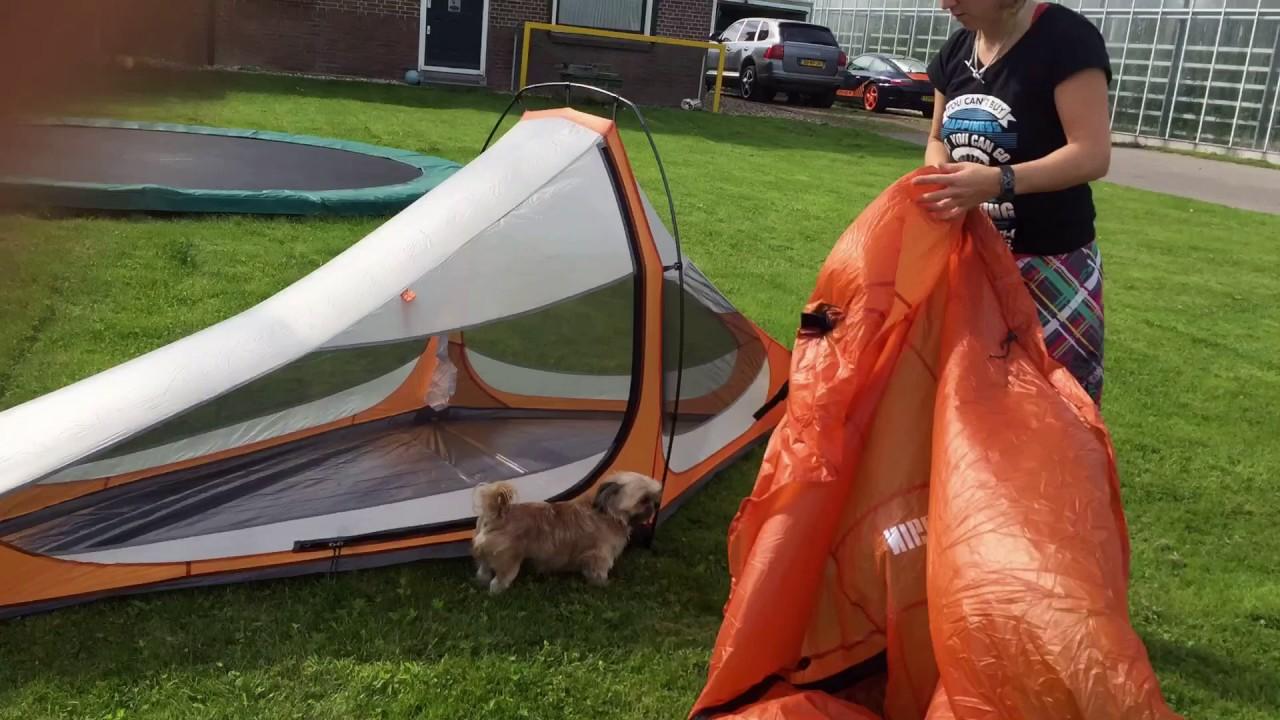 Tent setup; PCT thru-hike 2017; Nigor Pio Pio solo & Tent setup; PCT thru-hike 2017; Nigor Pio Pio solo - YouTube