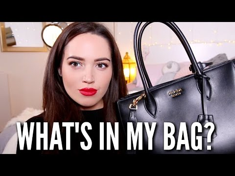 WHAT'S IN MY BAG? 🎀