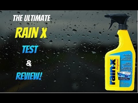 Rain X Review How To Ly The Ultimate Test Rv Windshield You