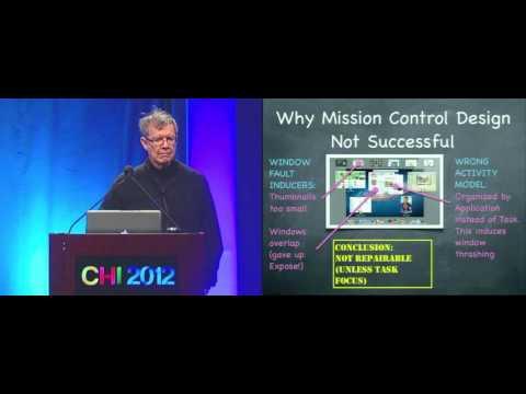 CHI 2012 Invited Lecture: Stuart Card