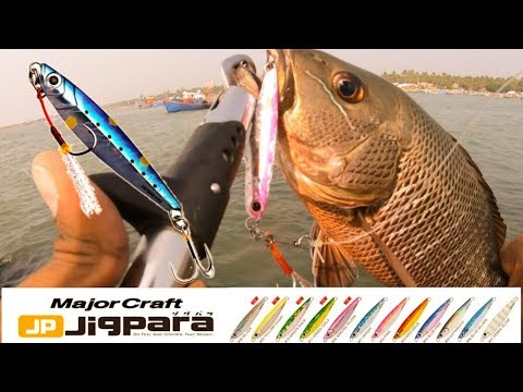 Red Snapped On Major Craft Jigpara 30g |ചെമ്പല്ലി ഫിഷിങ് | tackle Tips
