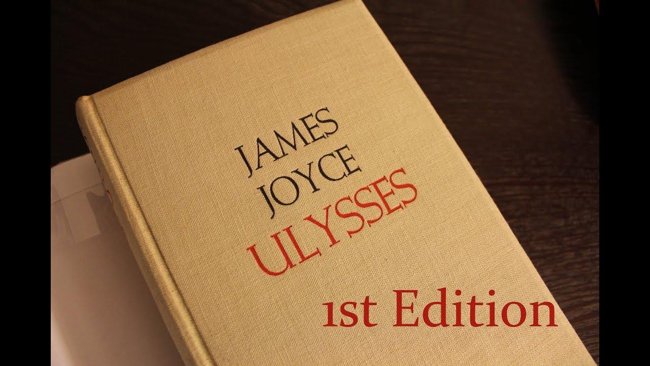 Ulysses By James Joyce 1934 Random House First Edition