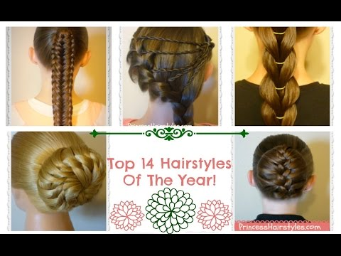 Top 14 Hairstyles Of The Year Countdown! thumbnail