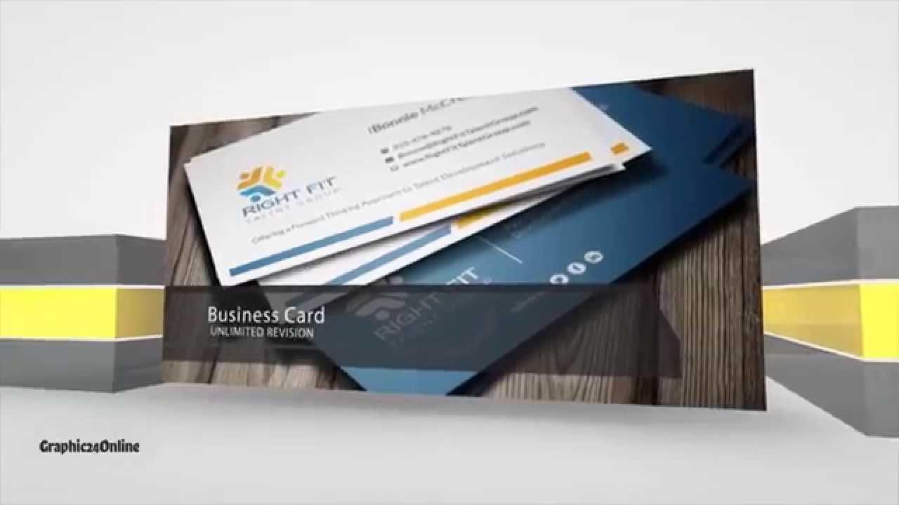 Business Card Design (Template AI,PSD) Fiverr - YouTube