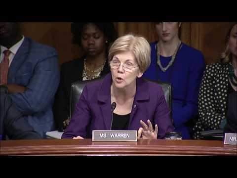 Sen  Elizabeth Warren  Aging Committee Hearing on the Opioid Crisis