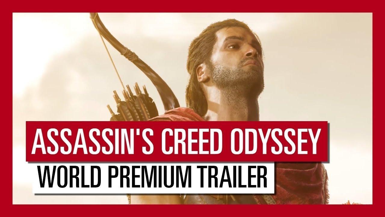 PS4『刺客教條:奧德賽』E3 2018 World Reveal 宣傳影片