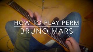 Perm Bruno Mars guitar tutorial lesson