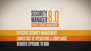 FireMon Security Manager 8.0