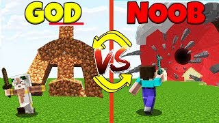 Minecraft Battle: NOOB vs GOD: SWAPPED BOSS BATTLE CHALLENGE / Animation