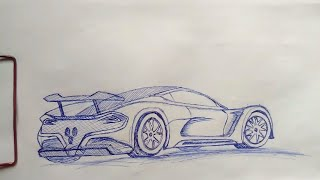 Drawing Hennessey Venum F5!!
