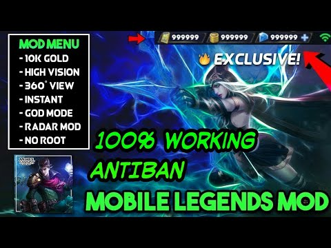 MOBILE LEGENDS MOD APK DOWNLOAD Hack/Cheats | Unlimited Health & Damage |  100% Working - AntiBan