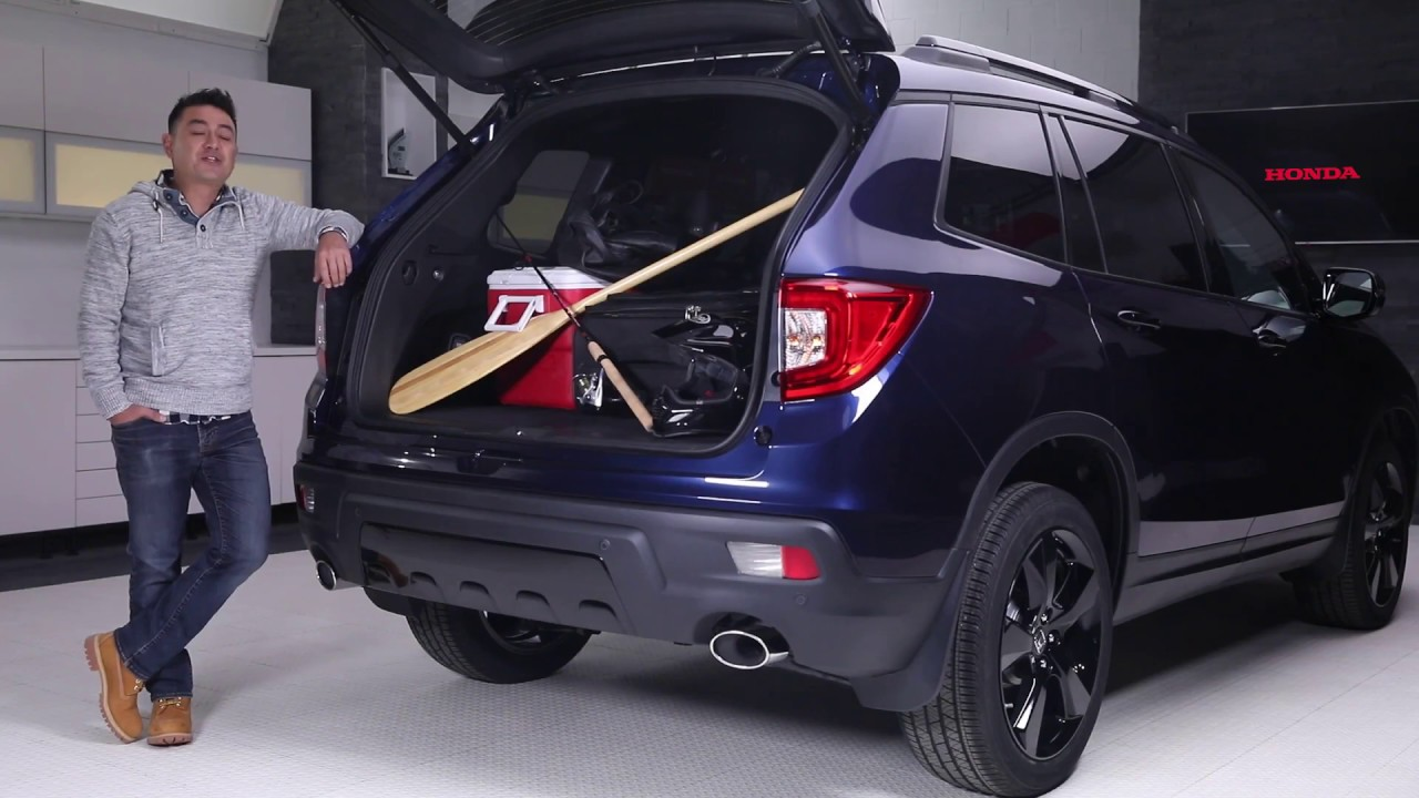 2019 Honda Passport Power Tailgate